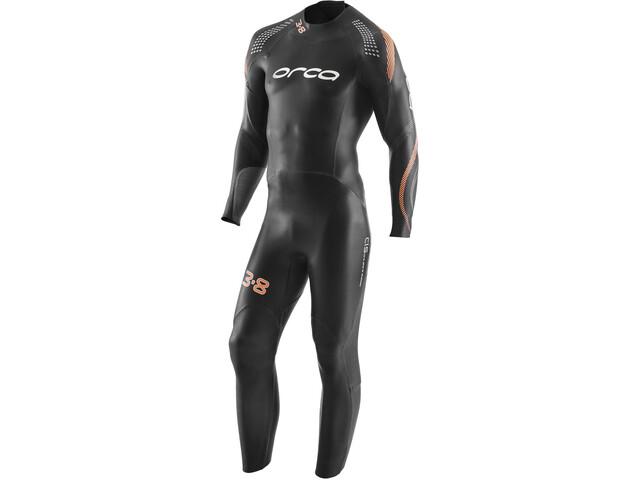 ORCA 3.8 Enduro Fullsleeve Wetsuit Men black